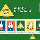 Miffy Personalised Stamps - Camping - Miffy in the Tent