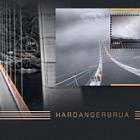 Europa 2018 - Hardanger Bridge - (Golden FDC)
