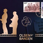 Film Series 'Olsenbanden 50th Anniversary' - Golden FDC