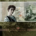 Queen Maud 150th Anniversary - Golden FDC