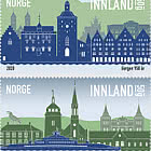 City Anniversaries - Bergen 950 Years and Moss 300 Years