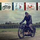 Mopeds and Motorcycles - Golden FDC