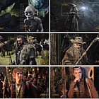 The Hobbit: An Unexpected Journey Set of Mint Miniature Sheets