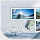 2017 New Zealand Surf Breaks Mint Miniature Sheet