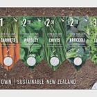 2017 Grow your own - Sustainable New Zealand Non-seed Mint Miniature Sheet