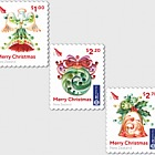 Christmas 2017 Set of Mint Self Adhesive Stamps