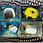 2017 Butterflyfish of Niue Mint Miniature Sheet