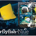 2017 Butterflyfish of Niue Miniature Sheet First Day Cover