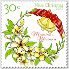 Niue Christmas 2017 Set of Mint Stamps