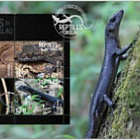 2017 Reptiles of Tokelau Miniature Sheet First Day Cover