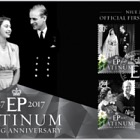 2017 Niue Platinum Wedding Anniversary First Day Cover