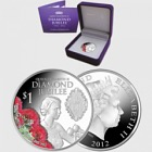 2012 Queen Elizabeth II Diamond Jubilee Silver Proof Coin