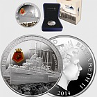 HMS Achilles Silver Proof Coin