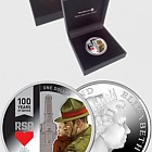 2016 RSA: 100 Years of Service Silver Proof Coin