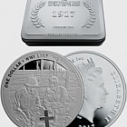 1917 The Darkest Hour Silver Proof Coin