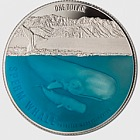 Sperm Whale Silver 1 OZ Proof Coin 2018