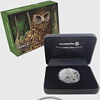 2017 New Zealand Annual Coin - Laughing Owl Silver Proof Coin