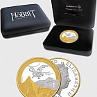 The Hobbit - The Desolation of Smaug Silver Coin with Gold Plating