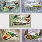 2018 Predator Free 2050 Set of Mint Stamps