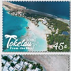 2018 Tokelau From the Sky Set of Mint Stamps