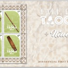 2018 Fale Tau Taoga Niue Miniature Sheet First Day Cover