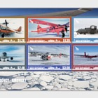 2018 Ross Dependency - Aircraft Mint Miniature Sheet