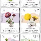 2019 Native Alpine Flora Set of Mint Stamps