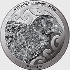 2019 New Zealand Annual Coin: North Island Takahe Silver Proof Coin