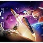 2019 New Zealand Space Pioneers 3D Lenticular Mint Miniature Sheet