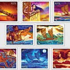 2019 Kupe - The Great Navigator Set of Mint Stamps