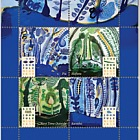 2019 John Pule Niue Mint Miniature Sheet