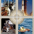 2019 Tokelau - Moon Landing 50 Years Set of Mint Stamps