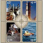 2019 Tokelau - Moon Landing 50 Years Mint Miniature Sheet