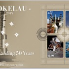 2019 Tokelau - Moon Landing 50 Years Miniature Sheet First Day Cover