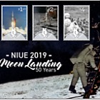 2019 Niue Moon Landing 50 Years First Day Cover
