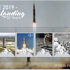 2019 Niue Moon Landing 50 Years Miniature Sheet First Day Cover