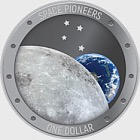 2019 New Zealand Space Pioneers Silver Proof Coin