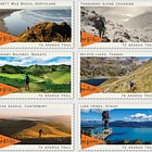2019 Te Araroa Trail Set of Mint Stamps