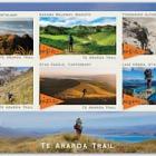 2019 Te Araroa Trail Mint Miniature Sheet
