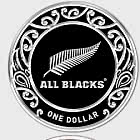 2019 All Blacks 1oz Silver Specimen Coin