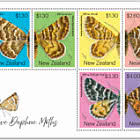 2020 Native Daphne Moths Mint Miniature Sheet
