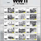 2020 WWII 75 Years Set of Mint Stamps