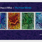 2020 Nga Hau e Wha - The Four Winds Mint Miniature Sheet