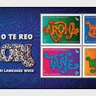 2020 Te Wiki o te Reo Maori - Maori Language Week Mint Miniature Sheet