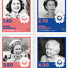 2021 Queen Elizabeth II Ninety-Fifth Birthday Set of Mint Stamps