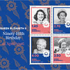 2021 Queen Elizabeth II Ninety-Fifth Birthday Mint Miniature Sheet