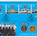 Boys' Brigade Niue - 75 Years Miniature Sheet First Day Cover