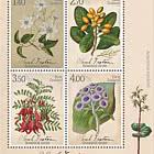 2021 Sarah Featon - Botanical Artist Mint Miniature Sheet
