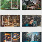2021 The Lord of the Rings -The Fellowship of the Ring 20th Anniversary Set of Mint Miniature Sheets