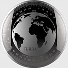 Terra -  Medallion Proof Like - Kapsel